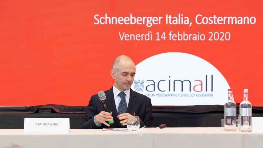 Matteo Simonetta representando a ACIMALL