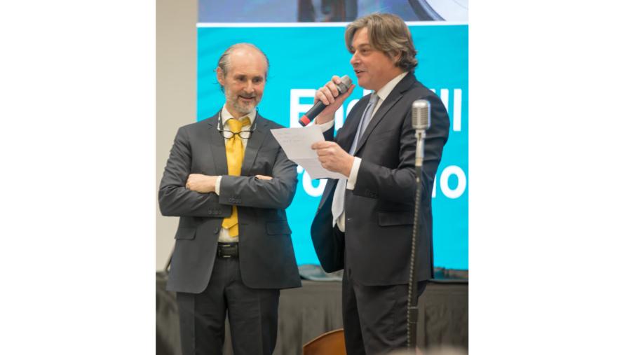 Palabras de bienvenida por Michele Dell'Eva y Diego Albiero