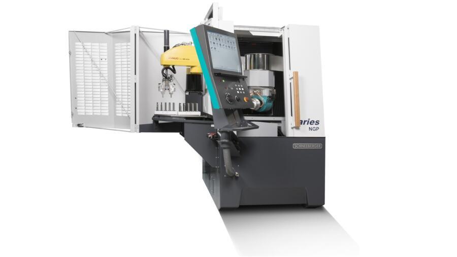 5-Achsen-Schleifmaschine Aries NGP Production Scara