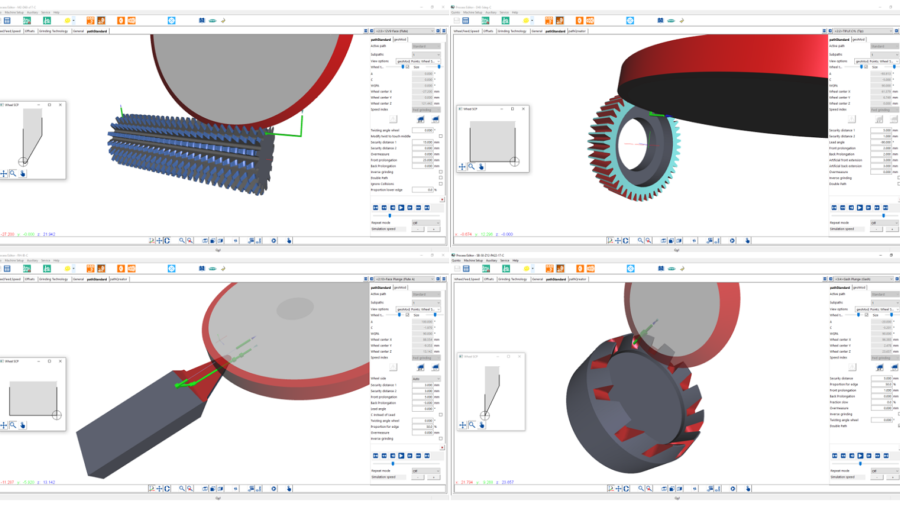Verzahnungswerkzeuge programmiert mit der CAD/CAM Software Qg1