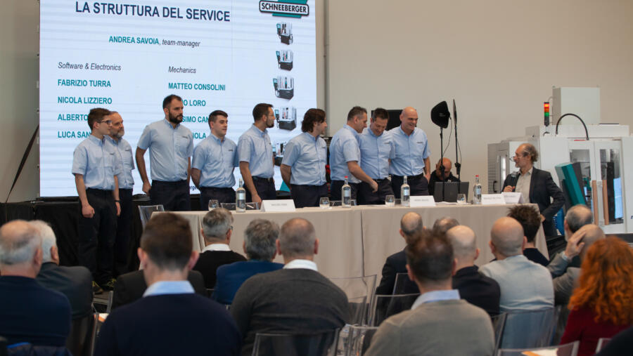 Service Team SCHNEEBERGER Italy